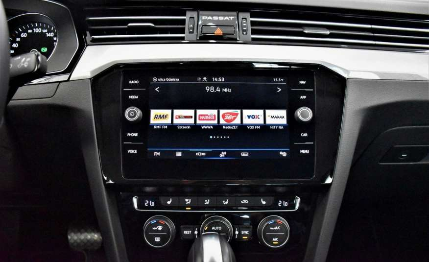 Volkswagen Passat SalonPl, Vat23%, Biznes, DSG, Przebieg , Navi, Czujnik parkowania, lift 4x2 zdjęcie 24
