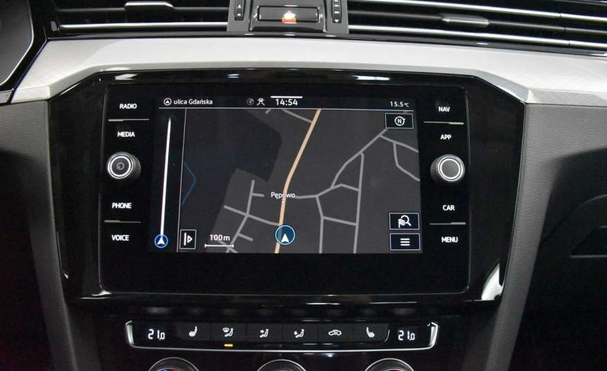 Volkswagen Passat SalonPl, Vat23%, Biznes, DSG, Przebieg , Navi, Czujnik parkowania, lift 4x2 zdjęcie 28