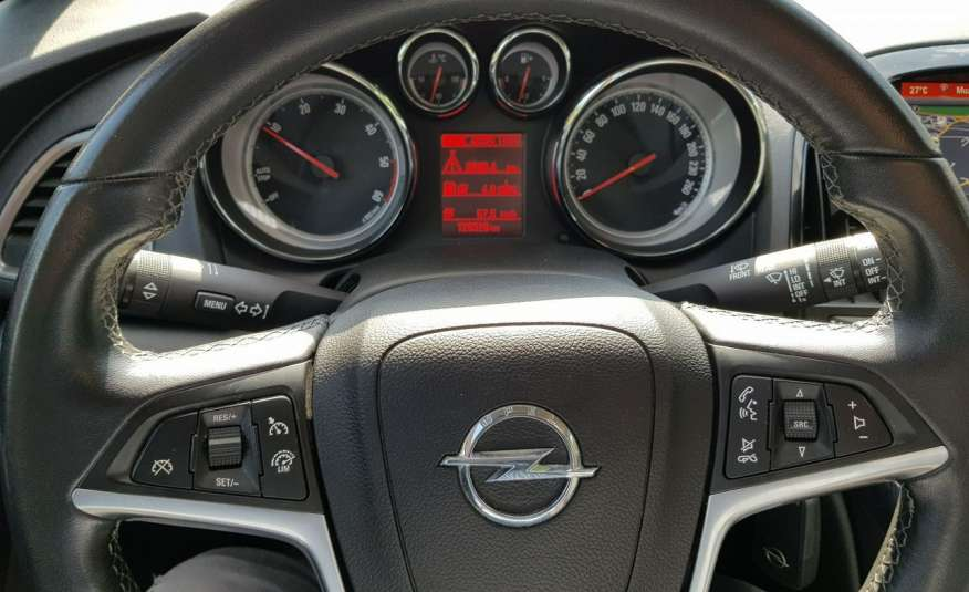 Opel Astra Klimatronic x 2 / Nawigacja / Tempomat / 1 właściciel zdjęcie 7