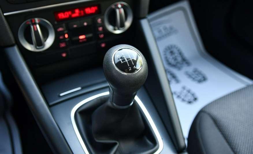 Audi A3 1.6d Alu, Klimatronic, Serwis, Manual, LIFT, El.szyby.GWARANCJA zdjęcie 27