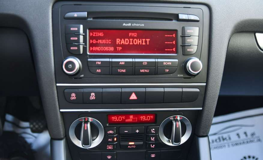 Audi A3 1.6d Alu, Klimatronic, Serwis, Manual, LIFT, El.szyby.GWARANCJA zdjęcie 30