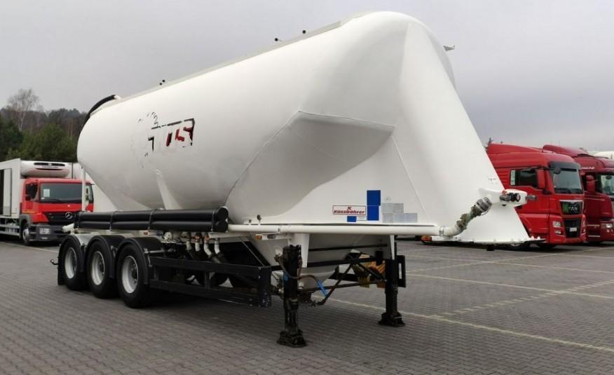 KASSBOHRER SSL 35m Cemento naczepa przewóz mat. sypkich zdjęcie 1