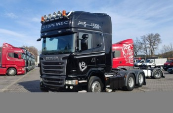 Scania R 560 V8 Topline6x2 Dop. Masa 66.T Po Kontrakcie Serwisowym