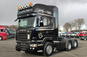 Scania R 560 V8 Topline6x2 Dop. Masa 66.T Po Kontrakcie