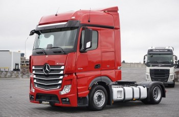 Mercedes ACTROS / 1845 / ACC / MP 4 / EURO 6 / MEGA / LOW DECK / BIG SPACE