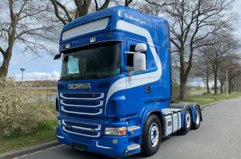 Scania R500 V8 PUSHER 6X2/4