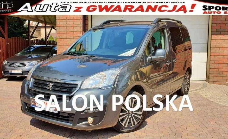 Peugeot Partner 1.6 BHDI 100 KM, SALON PL, I WŁ, KLIMARTONIC F.vat23%, Gwarancja, Leasing zdjęcie 1