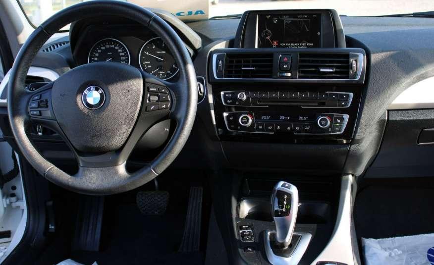 BMW 116 Automat Salon PL F-vat Gwar Xenony zdjęcie 32