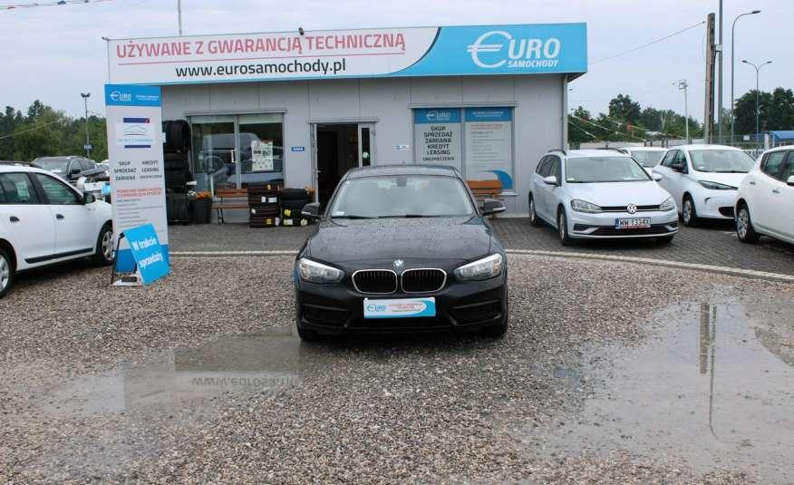 BMW 116 F-Vat, Gwarancja, Salon Polska, Pakiet Serwisowy zdjęcie 1