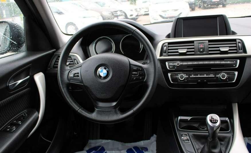 BMW 116 F-Vat, Gwarancja, Salon Polska, Pakiet Serwisowy zdjęcie 10