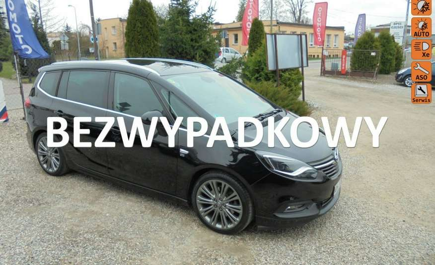 Opel Zafira Pełen serwis, jak nowa, wyposażona, bezwypadkowa , patrz zdjęcia oraz opis zdjęcie 1