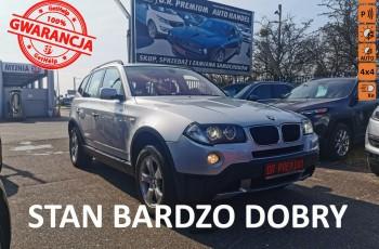 BMW X3 2.0 Diesel 177 KM, Panorama, 4x4, Xenon, Alu, Skóra, Klima, Navi, TEL