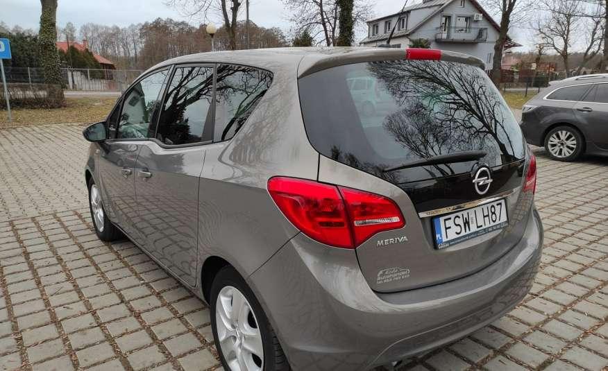 Opel Meriva Meriva B 1.4 8x AirBag 143 tys Tempomat Zarejest w Polsce GWARANCJA zdjęcie 4