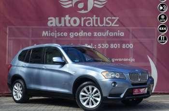 BMW X3 Oryginalny lakier - 100% Bezwypadkowy / Szklany Dach / Automat / 4x4