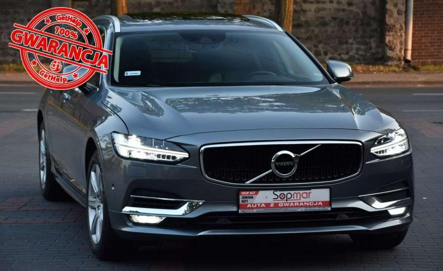 Volvo V90 AWD 2.0D4 190KM Automat 2017r. Skóra NAVi Full LED Blis zdjęcie 1