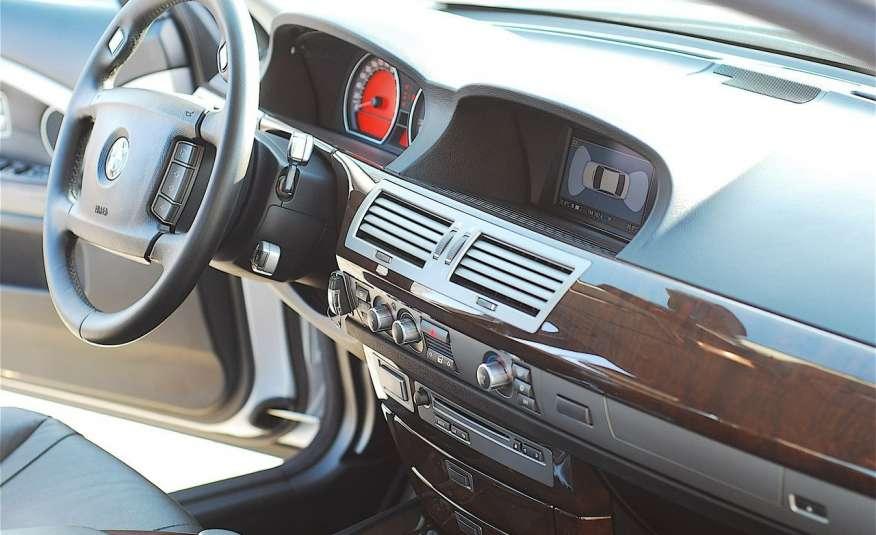 BMW 730 730d Lifting 211KM Bi Xenon Alu 20 Komfort Sitze Duża NAVI Z Niemiec zdjęcie 19