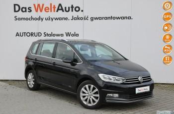 Volkswagen Touran 2.0 TDI 150KM DSG Highline HAK LED Serwis ASO FV 23%