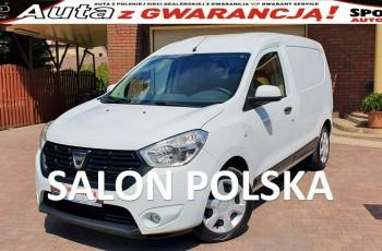 Dacia Dokker Van 1.6 SCE 102 KM BENZYNA Confort Salon PL, I WŁ F.vat23%, Leasing