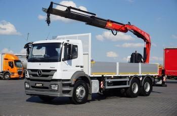 Mercedes AXOR / 2633 / E 5 / SKRZYNIOWY + HDS / MANUAL / ROTATOR / PILOT