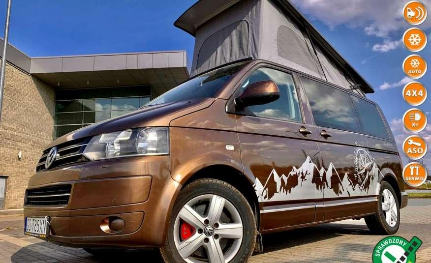 Volkswagen Multivan Camper 2.0tdi 140KM 4Motion navi kamera stolik 5xłóżko gwarancji zdjęcie 1