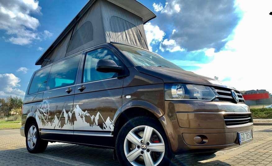 Volkswagen Multivan Camper 2.0tdi 140KM 4Motion navi kamera stolik 5xłóżko gwarancji zdjęcie 2