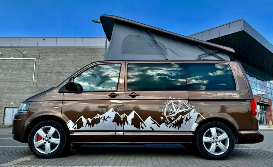 Volkswagen Multivan Camper 2.0tdi 140KM 4Motion navi kamera stolik 5xłóżko gwarancji zdjęcie 3