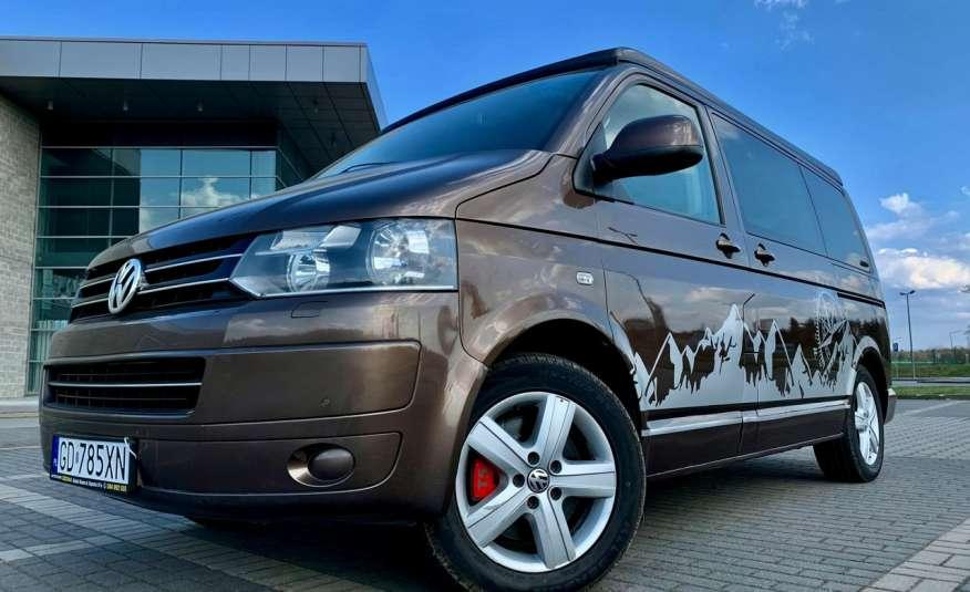 Volkswagen Multivan Camper 2.0tdi 140KM 4Motion navi kamera stolik 5xłóżko gwarancji zdjęcie 7