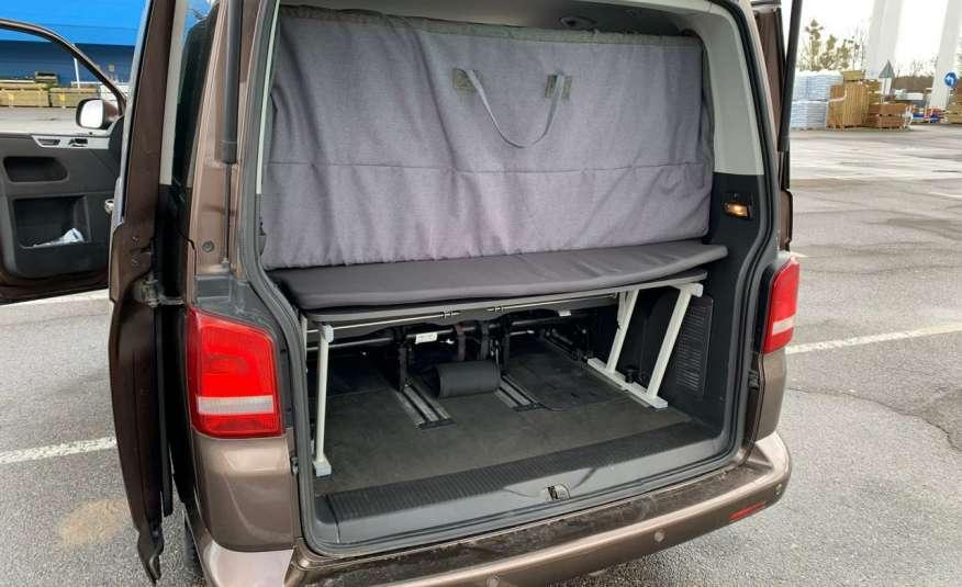 Volkswagen Multivan Camper 2.0tdi 140KM 4Motion navi kamera stolik 5xłóżko gwarancji zdjęcie 8