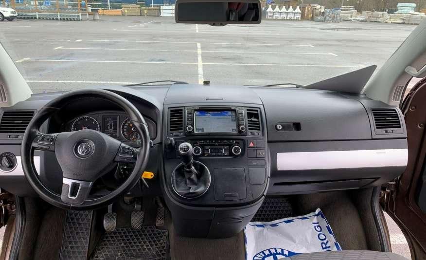 Volkswagen Multivan Camper 2.0tdi 140KM 4Motion navi kamera stolik 5xłóżko gwarancji zdjęcie 10