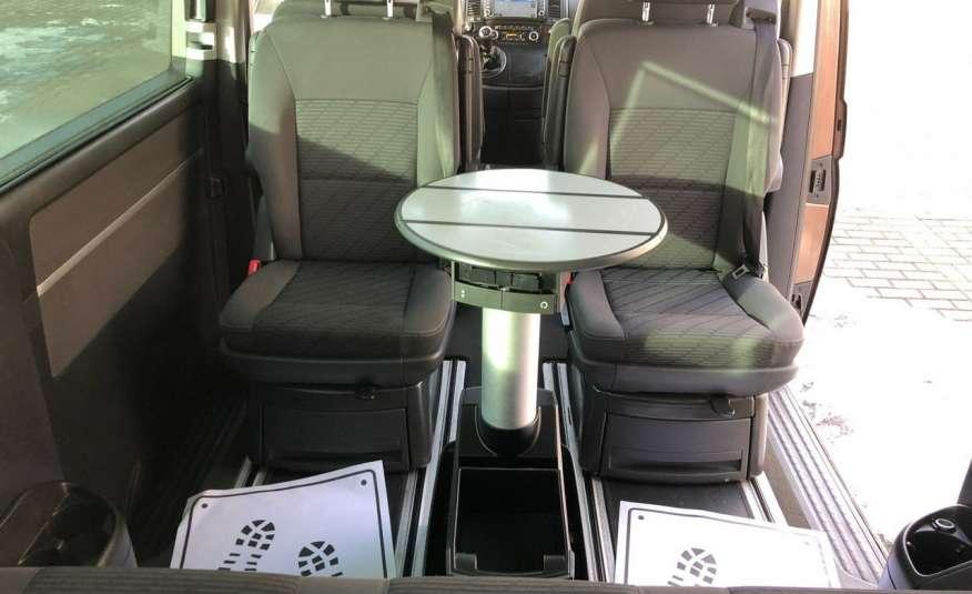 Volkswagen Multivan Camper 2.0tdi 140KM 4Motion navi kamera stolik 5xłóżko gwarancji zdjęcie 21
