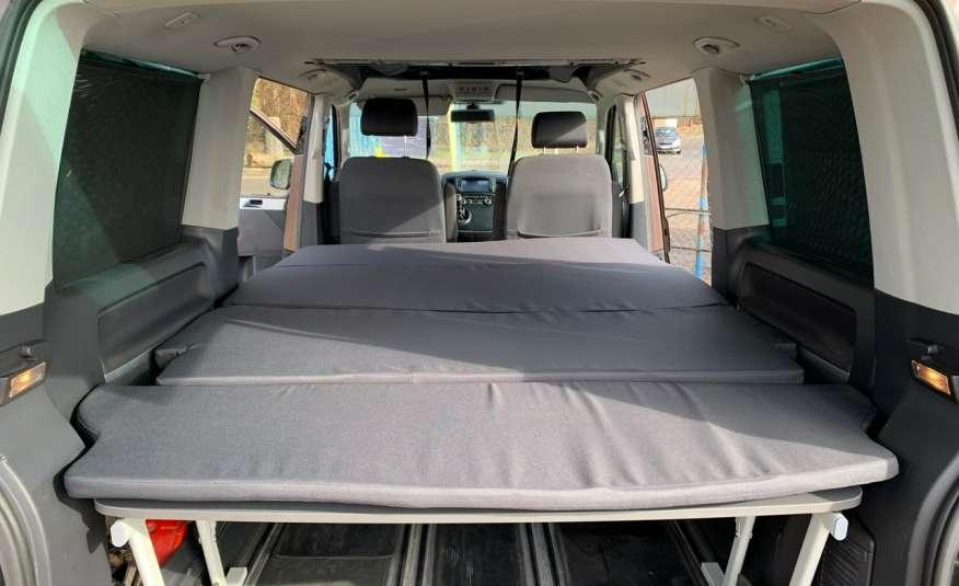 Volkswagen Multivan Camper 2.0tdi 140KM 4Motion navi kamera stolik 5xłóżko gwarancji zdjęcie 26