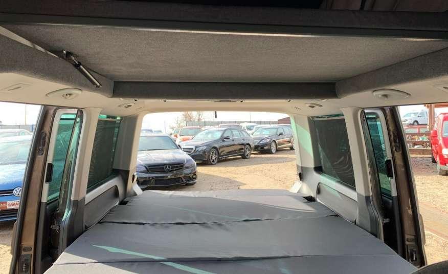 Volkswagen Multivan Camper 2.0tdi 140KM 4Motion navi kamera stolik 5xłóżko gwarancji zdjęcie 28