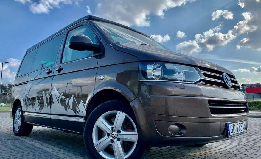 Volkswagen Multivan Camper 2.0tdi 140KM 4Motion navi kamera stolik 5xłóżko gwarancji zdjęcie 31