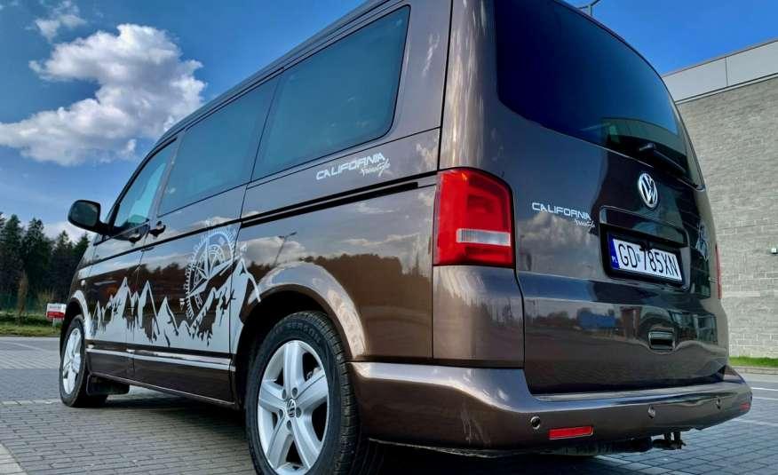 Volkswagen Multivan Camper 2.0tdi 140KM 4Motion navi kamera stolik 5xłóżko gwarancji zdjęcie 32