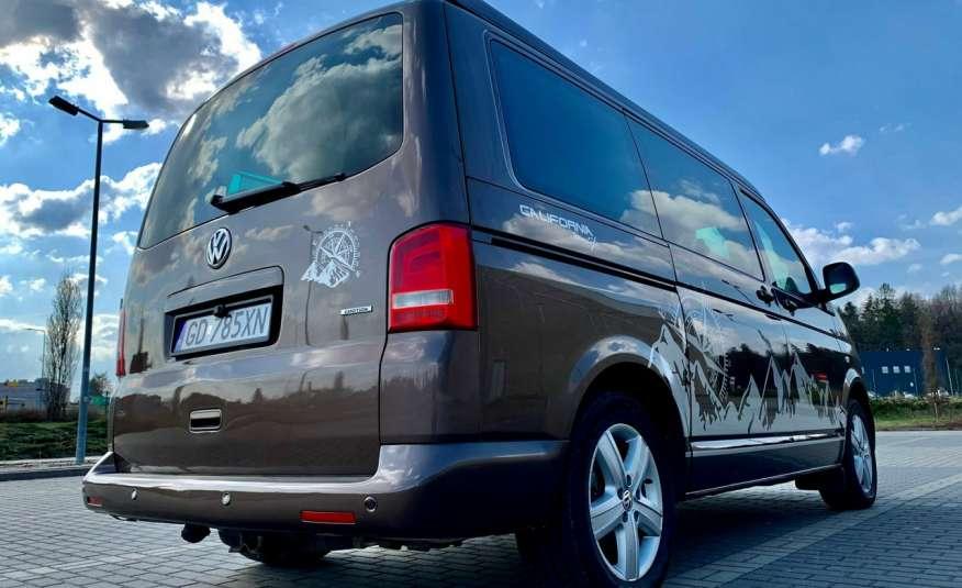 Volkswagen Multivan Camper 2.0tdi 140KM 4Motion navi kamera stolik 5xłóżko gwarancji zdjęcie 33