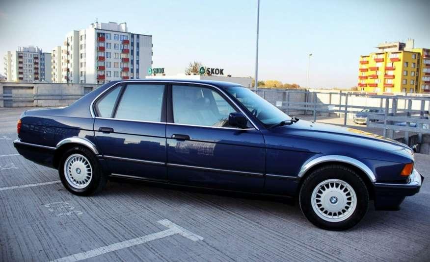BMW 730 3.0 Benzyna 188KM Manual Klima Alufelgi RARYTAS zdjęcie 10