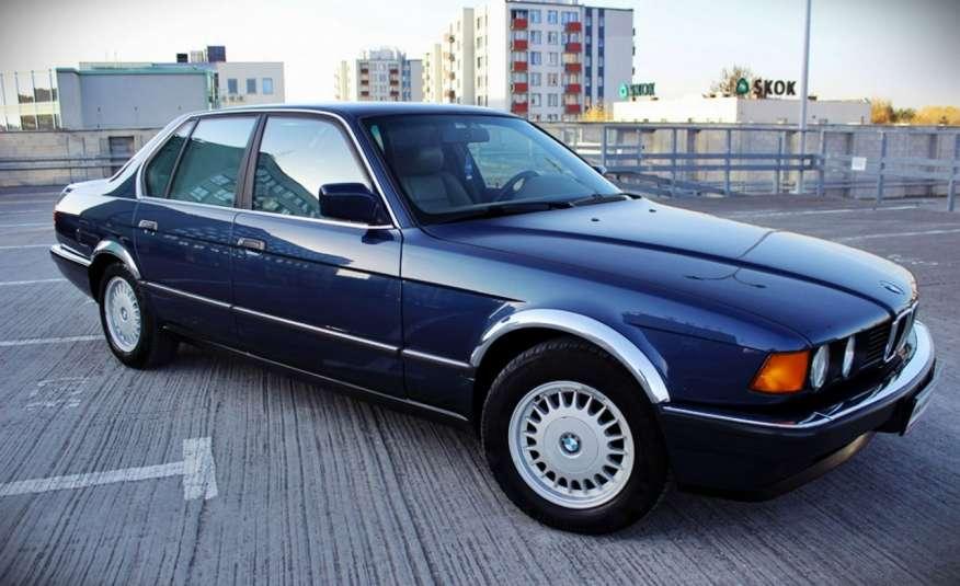 BMW 730 3.0 Benzyna 188KM Manual Klima Alufelgi RARYTAS zdjęcie 11