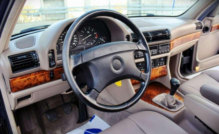 BMW 730 3.0 Benzyna 188KM Manual Klima Alufelgi RARYTAS zdjęcie 17