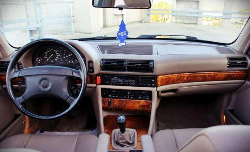 BMW 730 3.0 Benzyna 188KM Manual Klima Alufelgi RARYTAS zdjęcie 32