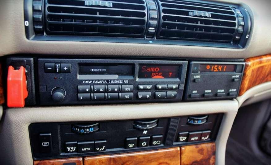 BMW 730 3.0 Benzyna 188KM Manual Klima Alufelgi RARYTAS zdjęcie 36
