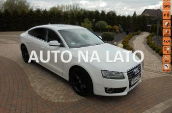 Audi A5 Piękna biała , 4x4 , brązowe skóry , wyposażona , zarejestrowana