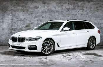 BMW 520 520d xDrive 190KM Touring M Pakiet Hak Aktywny tempomat Panorama F.VAT