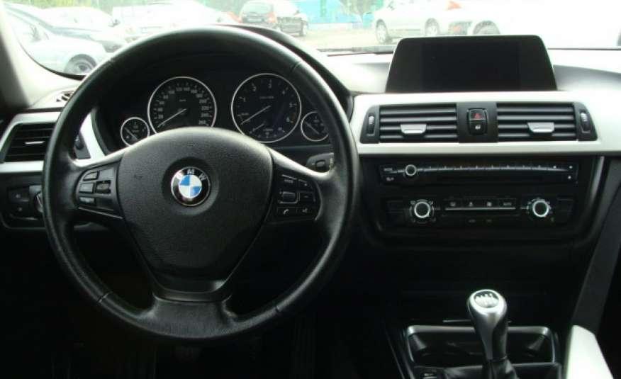 BMW 318 2.0 136 kM F31 zarejestrowany i ubezpieczony, nawigacja, skórzana tap. zdjęcie 11