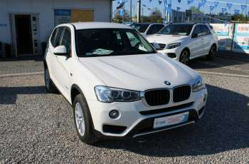 BMW X3 F-Vat, Salon Polska, Xenon, Automat, Gwarancja, X-Drive, Kamera Cofania