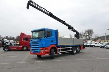 Scania R 400 LB 6x2 HDS Budowlanka Widły Oś Skrętna Super Stan