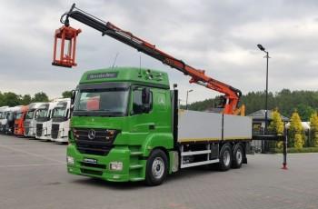 Mercedes AXOR E4 25.43 6x2