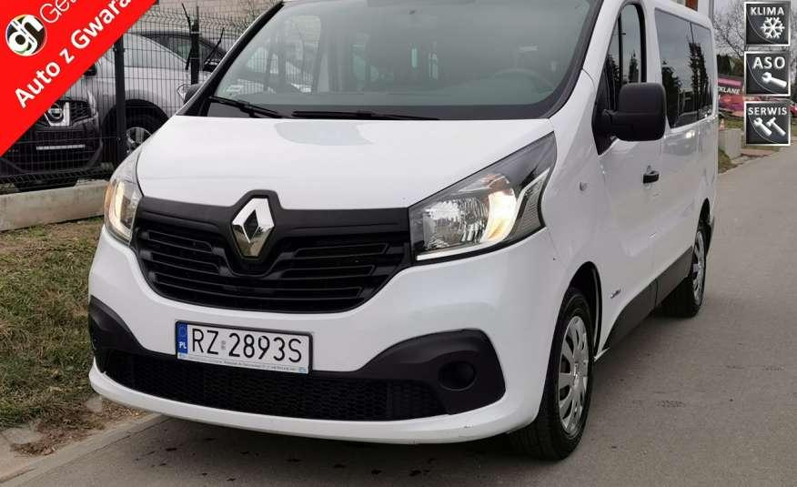 Renault Trafic 129 tyś km 1.6 DCI 115 KM Klimatyzacja 9 osób zdjęcie 1