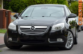 Opel Insignia Czarna Zarejestrowana 1.4T 140KM Serwis Start/Stop Navi 2xPDC