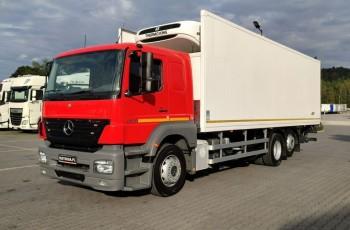 Mercedes AXOR 2533L 6x2 Chłodnia Agregat Thermo King T-800R 21Palet