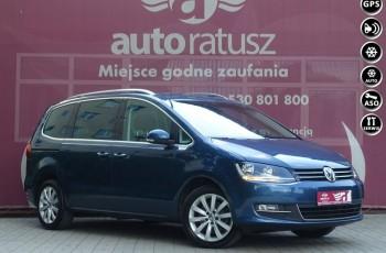 Volkswagen Sharan FV 23% /Aut. DSG /Szklany Dach/Skóry/El. Drzwi/Radar/ HIGHLINE